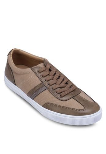 Striped Detail zalora退貨Sneakers, 鞋, 鞋