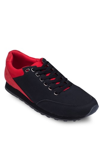 撞色拼接運動鞋, 鞋,zalora 心得 鞋
