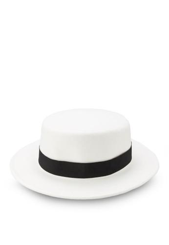 平頂氈帽zalora退貨紳士帽, 飾品配件, 飾品配件