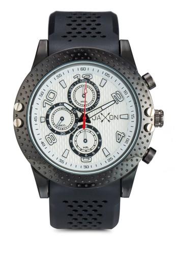 沖孔錶帶時尚手錶, 錶類, 休zalora開箱閒型