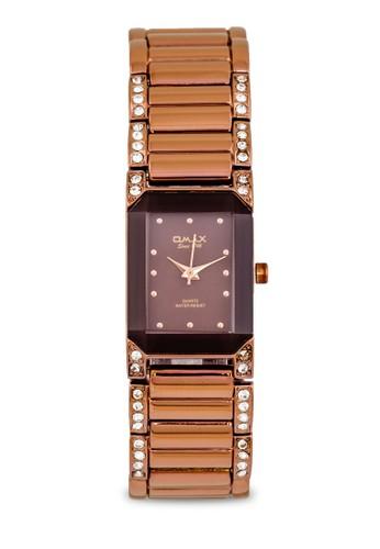 JES6125BRWzalora鞋子評價 水鑽細鏈手錶, 錶類, 不銹鋼錶帶