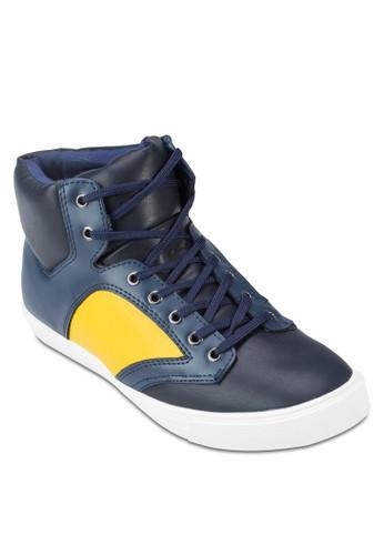 仿皮襯墊zalora 包包 ptt高筒休閒鞋, 鞋, 休閒鞋