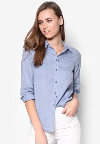 牛津長袖襯衫, 服飾, 上topshop 台灣衣