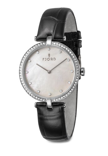 Aslazalora 衣服尺寸ug  水晶小圓錶, 錶類, 飾品配件