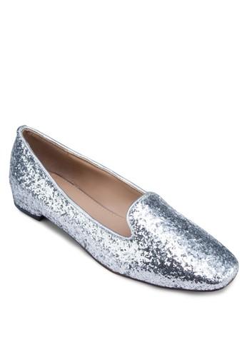 閃zalora時尚購物網評價面方頭樂福鞋, 女鞋, 鞋
