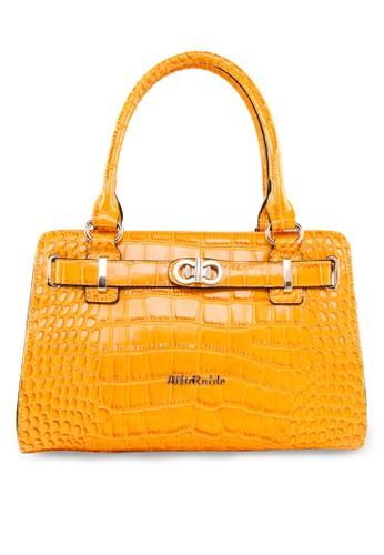 壓紋立體手提包, zalora 折扣碼包, 飾品配件