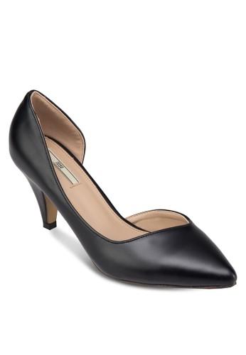 側鏤空zalora 鞋評價尖頭高跟鞋, 女鞋, 鞋