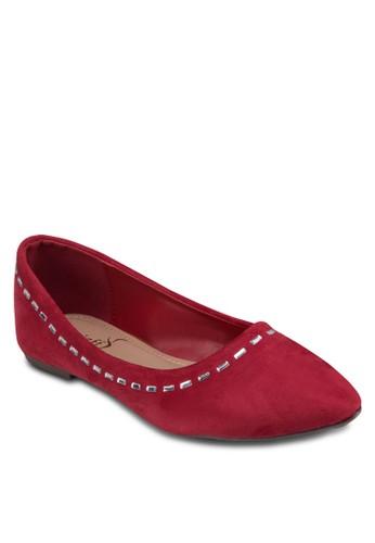 經典zalora 手錶 評價珠飾平底鞋, 女鞋, 鞋