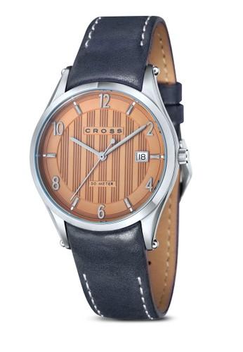 Lzalora 手錶ucida 真皮細帶手錶, 錶類, 錶類