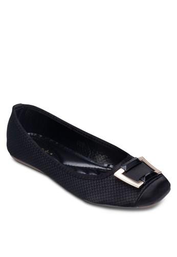 扣環zalora 泳衣軟襯平底鞋, 女鞋, 鞋
