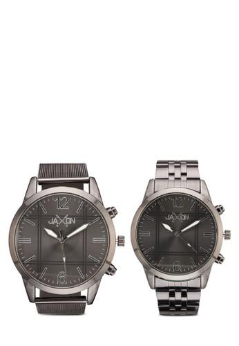 Connor 不銹鋼圓框情侶錶,zalora 評價 錶類, 不銹鋼錶帶