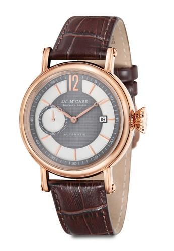 Lurgan 副錶盤自動圓框zalora 衣服尺寸手錶, 錶類, 男裝配件