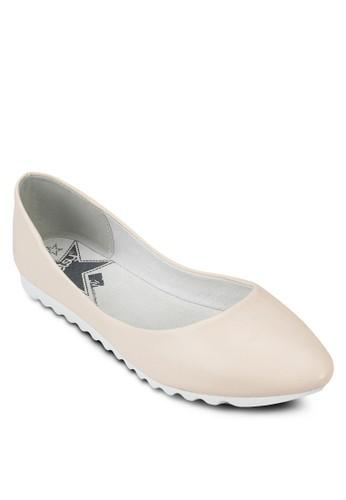 簡約尖頭平底zalora 折扣碼鞋, 女鞋, 芭蕾平底鞋