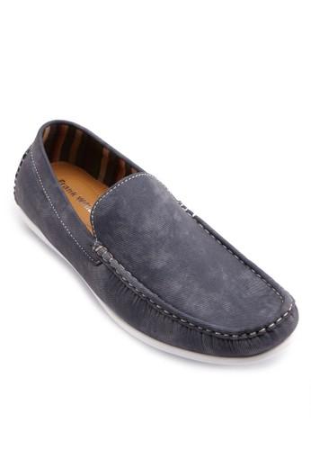 簡約布質樂福鞋, zalora 衣服尺寸鞋, 船型鞋