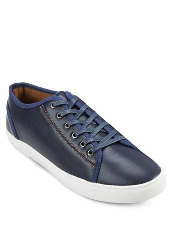 繫帶仿皮休閒鞋, 鞋, 休閒zalora 台灣鞋