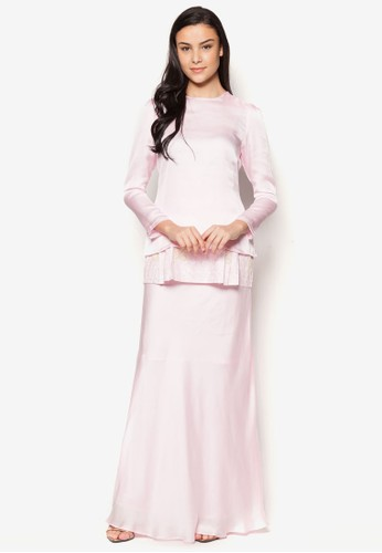 Tiffany Kurung from Najjah in Pink
