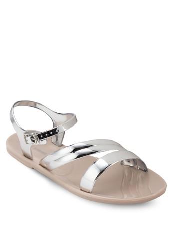 Finzalora 評價occhieto 金屬感涼鞋, 女鞋, 鞋