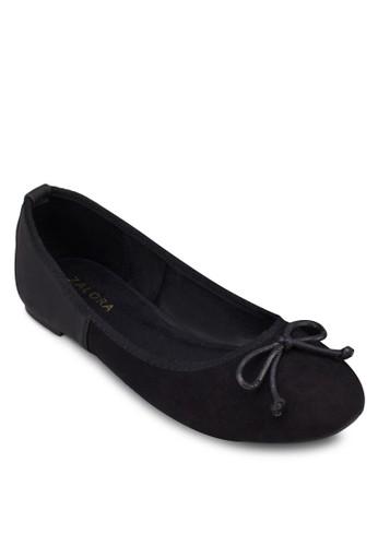 異材質拼接蝴蝶機娃zalora鞋娃鞋, 女鞋, 鞋