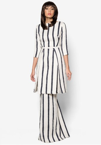Kurung Lemang from Woo/Fiziwoo for Zalora in White