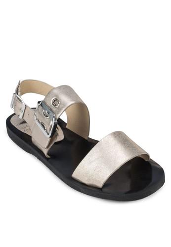 一字帶繞踝涼鞋, 女zalora 台灣鞋, 涼鞋