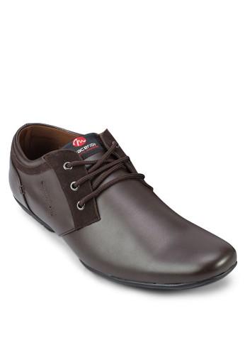 繫帶正裝皮鞋zalora 內衣, 鞋, 皮鞋