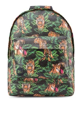 熱帶風印花後背包, 包, 後zalora 衣服尺寸揹包