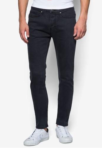 zalora退貨Dexter 彈力窄管牛仔褲, 服飾, 牛仔褲