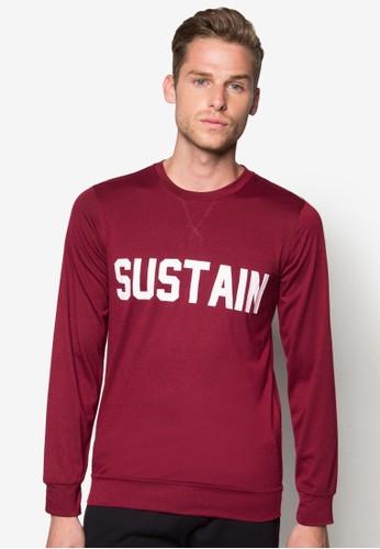 『Sustain』長袖zalora 鞋評價衫, 服飾, 外套