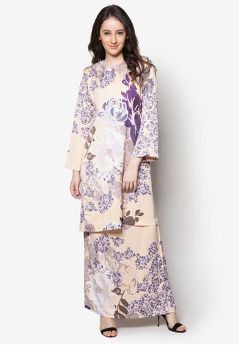Baju Kurung Helena from Butik Sireh Pinang in Beige