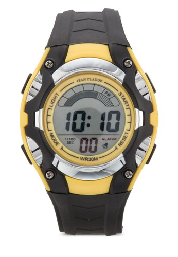 多功能運動zalora退貨風電子錶, 錶類, 其它錶帶