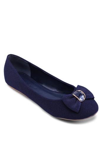 蝴蝶結zalora taiwan 時尚購物網圓頭娃娃鞋, 女鞋, 鞋