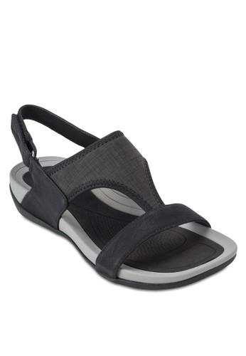 魔鬼氈踝帶zalora鞋涼鞋, 女鞋, 楔形涼鞋