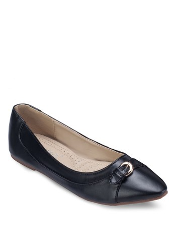 扣環飾帶平底鞋, 女鞋zalora 男鞋 評價, 鞋