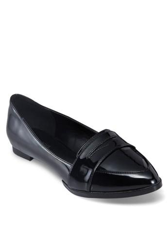 Legoerwen 尖頭樂福鞋,zalora taiwan 時尚購物網鞋子 女鞋, 鞋