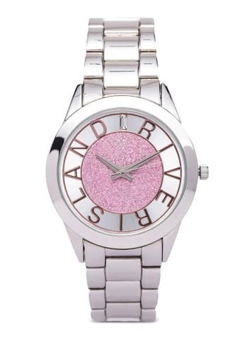 閃飾不銹鋼鍊zalora 手錶錶, 錶類, 休閒型