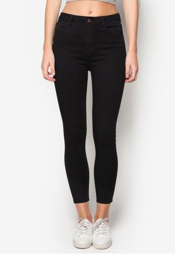 Rina 超彈窄管zalora 衣服評價牛仔褲, 服飾, 服飾