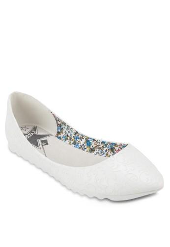 經典尖zalora退貨頭平底鞋, 女鞋, 鞋