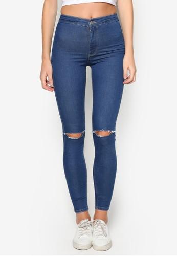 MOTO Blue Rippzalora開箱ed Joni Jeans, 服飾, 緊身牛仔褲