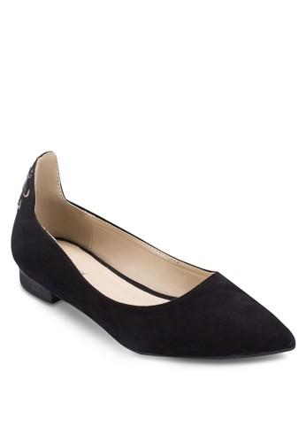 交叉繫帶包跟平底zalora 心得鞋, 女鞋, 芭蕾平底鞋