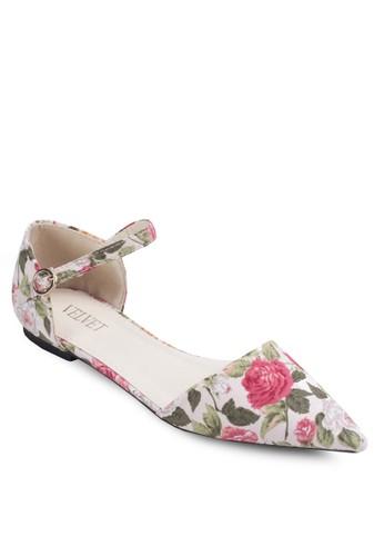 Floral D'Orzalora時尚購物網的koumi koumisay Pointy Flats, 女鞋, 鞋