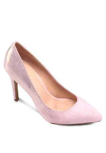 混搭設計高跟鞋, zalora taiwan 時尚購物網鞋子女鞋, 鞋