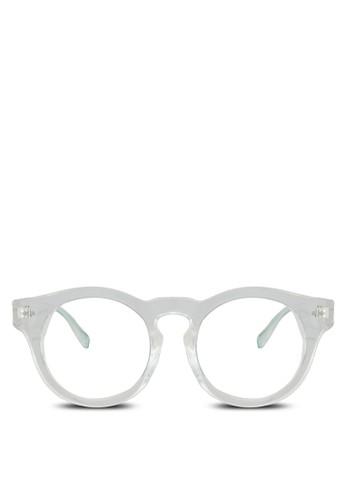 Nichozalora 台灣門市las 粗框造型眼鏡, 飾品配件, 眼鏡