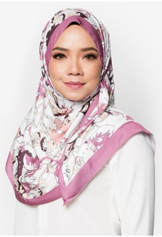 OWLBYND pink and multi Blossom For Us Shawl OW788AC15BEUMY_1