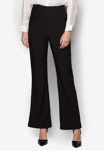 Jordan 高腰喇叭長褲, 服飾, 長褲及zalora 心得內搭褲