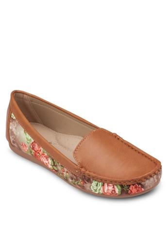 Floral Slip-On, 女鞋,zalora退貨 懶人鞋