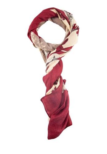 獅子印花圍巾zalora時尚購物網評價, 飾品配件, 飾品配件