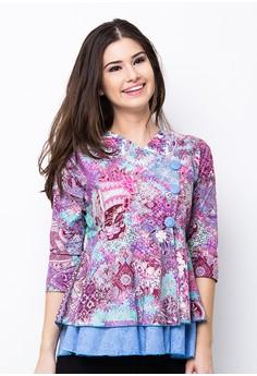 Model Baju Batik Elegan untuk Kantor