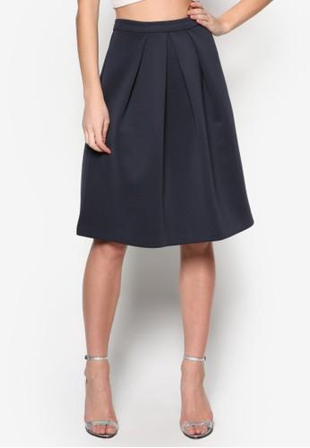 基本款褶藝短zalora taiwan 時尚購物網鞋子裙, 服飾, 洋裝