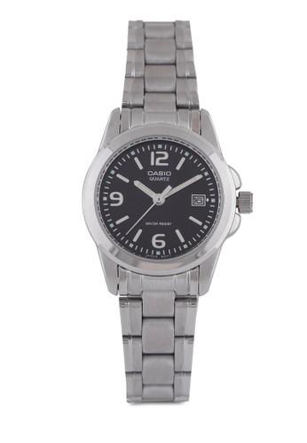Casio LTP-1215A-1Azalora taiwan 時尚購物網鞋子DF 不銹鋼手錶, 錶類, 不銹鋼錶帶