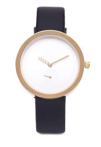 暗紋zalora 心得仿皮圓錶, 錶類, 休閒型